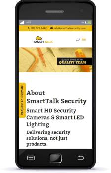 Regina Web Design SmartTalk Security Regina