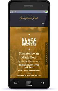 Regina Web Design Sask Made Beer