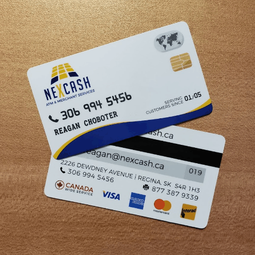 Regina Magnetic Business Cards